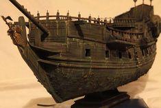 Постройка Черной Жемчужины (облегченная версия) — Каропка.ру — стендовые модели, военная миниатюра Real Pirate Ships, Model Sailboats, Black Pearl Ship, Model Ship Building, Driftwood Lamp, Hms Victory, Boat Plans, Tall Ships, Model Ships