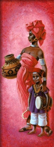 African painting                                                       …