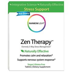 Rainbow Light - Zen Therapy, 30 Count, Stress Management, B-Complex Supplement #Rainbow #Light #Therapy, #Count, #Stress #Management, #Complex #Supplement