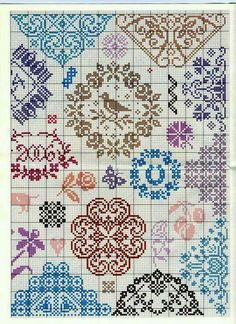 5 - Facon Quaker - Labadee brown for my sampler Cross Stitch Love, Cross Stitch Borders, Cross Stitch Samplers, Cross Stitch Flowers, Cross Stitch Charts, Cross Stitch Designs, Cross Stitching, Cross Stitch Patterns, Diy Embroidery