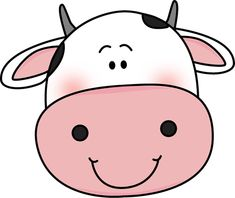 Black And White Cow Face Clipart - Clipart Suggest Cartoon Cow Face, Cartoon Faces, Cow Png, Barnyard Party, Cow Head, Cow Pattern, White Cow, Cute Cows, Clipart Black And White