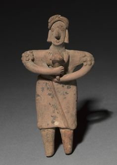 Standing Figurine, 300 B.C. to A.D. 300 West Mexico, Michoacán state, 300 B.C. to A.D. 300