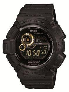 Casio G-shock Mudman Black X Gold Japanese Model [ ]. Casio G-shock Mudman Casio G Shock Watches, Sport Watches, Casio Watch, Watches For Men, Wrist Watches, Men's Watches, Black Watches, Casual Watches, Casio G Shock Mudman