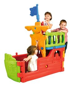 Look at this Pirate Ship Set on #zulily today!