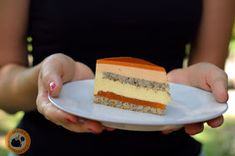 Praliné Paradicsom: Mák * sárgabarack * vanília torta Summer Cake Recipes, Summer Cakes, Mousse Cake, Winter Food, Tart, Recipies, Cheesecake, Food And Drink, Favorite Recipes