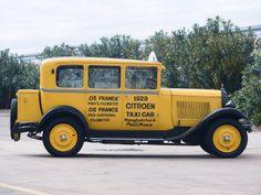 Citroën Type C6 Berline Taxi '1929–32