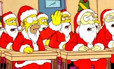 The Simpsons -Simpsons Roasting on an Open Fire