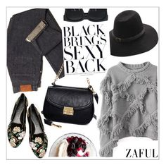 """""""Zaful"""" by teoecar ❤ liked on Polyvore featuring Alexander McQueen and zaful"""
