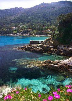 Fetovaia Beach, Elba Island, Tuscany, Italy Vacanze in