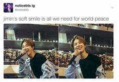 Jimin's smile