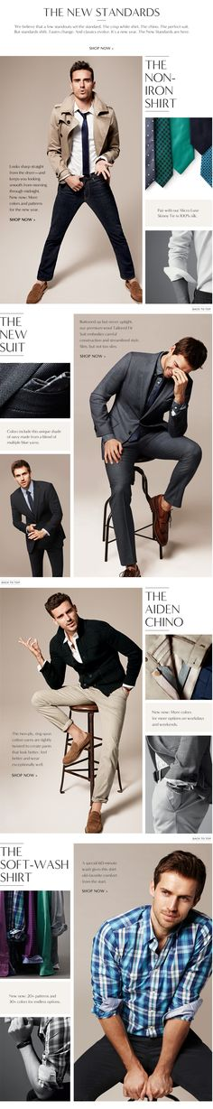 WARDROBE - Men's Apparel: Find our shirts, pants, polos, jeans, suits, blazers, outerwear, shoes & accessories | Banana Republic