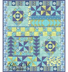 Free Quilt Patterns For Beginners | If you use this or any of my other patterns, I would love to see the ...
