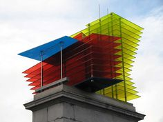 Model for a Hotel by Thomas Schütte, The Fourth Plinth, Trafalgar Square, London