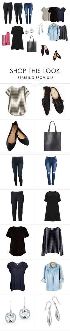 """""""basic"""" by sylwia-grzes on Polyvore featuring H&M, Wet Seal, Monki, M&Co, Simply Vera, Manon Baptiste, ATM by Anthony Thomas Melillo, WithChic, Velvet by Graham & Spencer and Anne Sisteron"""