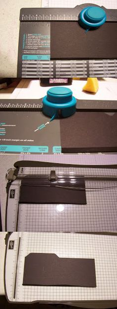 Tutorial for an Envelope Punch Board File Folder Album, Nov