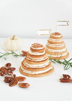 Edible DIY Layered Cookie Cake by Sugar & Cloth, an award winning DIY inspired lifestyle blog.