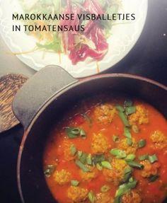 Vele kleintjes maken één groot. Zo ook met de Marokkaanse visballetjes in tomatensaus, gemaakt van restjes witte vis.