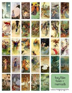 Fairytales Fairies and Mermaids