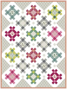 Hashtag Quilt | Kitchen Table Quilting