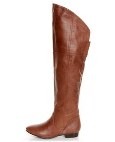 Chinese Laundry South Bay Henna Leather Over-The-Knee Boots $119.00 #lulu*s my grandma bought me these but got them at dillards clearance center...!