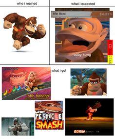 What I expected Super Smash Bros. pt 2