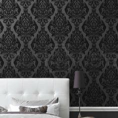 laurence llewelyn bowen wallpaper | Kinky Vintage Wallpaper | Black Wallpaper | Buy Wallpaper Direct