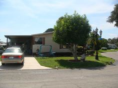 front view 1981  Mobile / Manufactured Home in Venice, FL via MHVillage.com