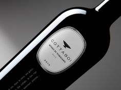creative, design, Examples, Inspiration, label, packaging, professional,Cottaboi Cantina Brufani