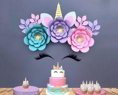 Best Indoor Garden Ideas for 2020 - Modern Unicorn Baby Shower Decorations, Diy Unicorn Party, Unicorn Party Supplies, Unicorn Birthday Parties, Unicorn Decor, Unicorn Bedroom, Gold Birthday, Birthday Bash, Birthday Ideas