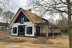 Farmhouse Style Homes Exterior Design Ideas - New Decoration Modern Country Style, Modern Farmhouse Design, Modern Farmhouse Exterior, Exterior Design, Building A House, Architecture Design, House Styles, Houses, Future House