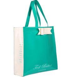 Green ted baker bag (: