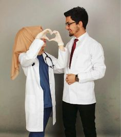 Hope that gets true 💕 Cute Muslim Couples, Couples In Love, Romantic Couples, Love Couple, Medical Photography, Muslim Couple Photography, Doctor Of Nursing Practice, Medical Wallpaper, Girl Doctor