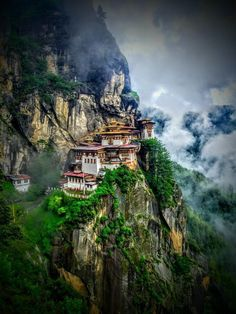 Beautiful monastery situated on in the nook of a mountain. Taken after a 2 hours hike up, and surrounded by beautiful views.