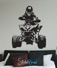 Vinyl Wall Decal Sticker Quad JH241s on Etsy, $49.95