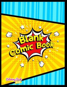 The blank comics to create the best stories for children and adults. 120 pages of wonderful and unique templates designed to meet the highest requirements of both small and large artists, as well as beginners and advanced cartoonists. The panels are arranged in such a way that it is easy to draw both short and long stories.
