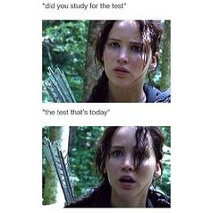 Hunger games humor @alexa1542  stupid french lol