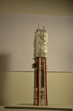 Frankfurt+600.2014.Carlos San Valentín Vitón.arquitectura.architecture.skyscrapper.rascacielos.maqueta.modell.5:AMARQ©