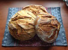 Ekşi mayalı ekmekler.