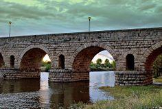 Puente Romano sobre el río Guadiana-1