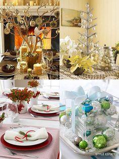Top 100 de Navidad decoraciones de mesa - Decoración de Navidad -