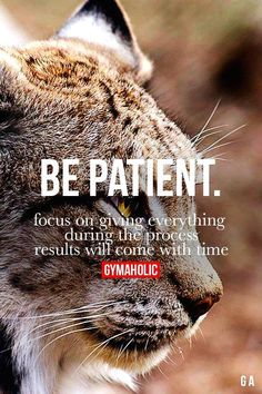 Be Patient Fitness R #gymmotivation #gym #menfitness #motivation #abs