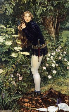 'The Little Foot-Page' Eleanor Fortescue Brickdale 1905