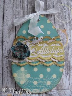 ProjectGallias #projectgallias Easter card egg Wielkanocna kartka jajo pisanka