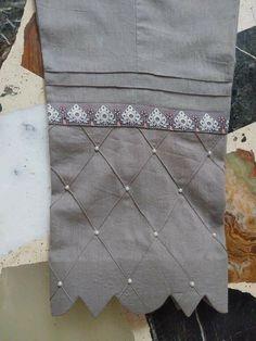 Kurti Sleeves Design, Sleeves Designs For Dresses, Kurta Neck Design, Neck Designs For Suits, Back Neck Designs, Sleeve Designs, Stylish Dresses For Girls, Stylish Dress Designs, Girls Dresses