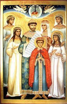 Romanov Martyrs Icon