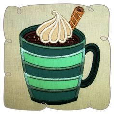 Mug Applique