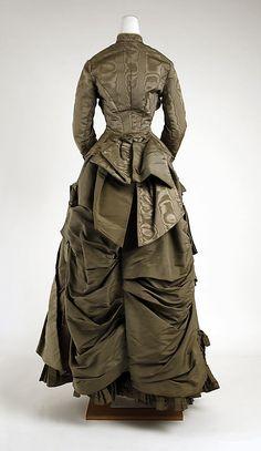 day dress, c.1882, Metropolitan Museum