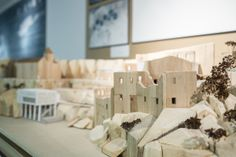 Work from Architecture students in the Liverpool School of Art and Design Degree Show 2014