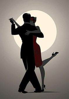 Flamenco dance costumes, outfits and dance dresses Tango Art, Tango Dancers, Retro Poster, Argentine Tango, Salsa Dancing, Silhouette Art, Art Graphique, Latin Dance, Dance Pictures