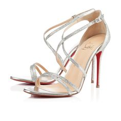 Auth Christian Louboutin Gwynitta Glitter Pumps Beautiful Party Shoes! Glitter Sandals, Silver Sandals, Silver Shoes, High Heel Pumps, Stilettos, Bridal Shoes, Wedding Shoes, Christian Louboutin Sandals, Shoes